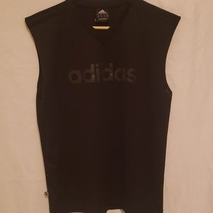 Adidas Mesh Activewear Sleeveless Shirt
